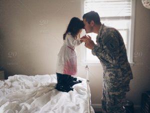 Soldados y conciliación