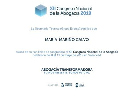 XII CONGRESO DE LA ABOGACÍA. PARTE DOS