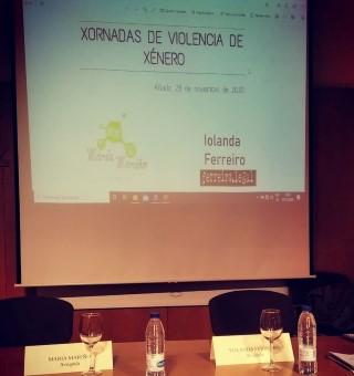 Maria Mariño| Xornadas Violencia De Xenero Allariz (2)